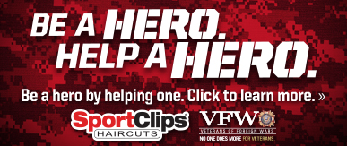Sport Clips Haircuts of Farmers Branch​ Help a Hero Campaign